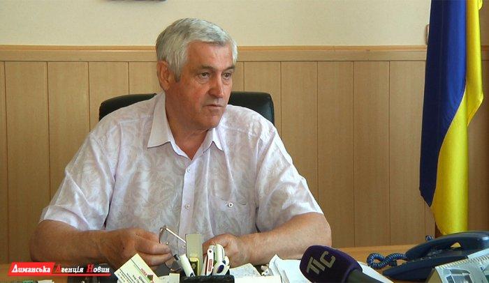Валерий Стоилаки, председатель Першотравневого сельского совета.