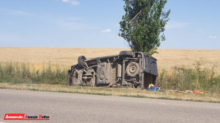 Возле Першотравневого произошло ДТП. Есть пострадавшие.