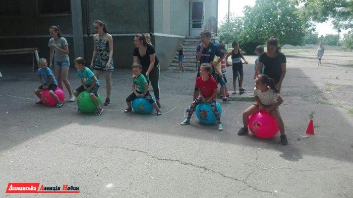 У пришкільному таборі в Першотравневому пройшов День сім'ї.