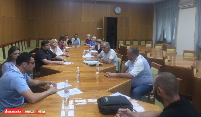 В облдержадміністрації обговорили шляхи вирішення проблем водопостачання в Лиманському районі.