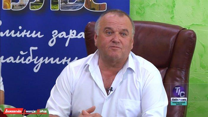 Володимир Курко, сільський голова Яськівської ОТГ.