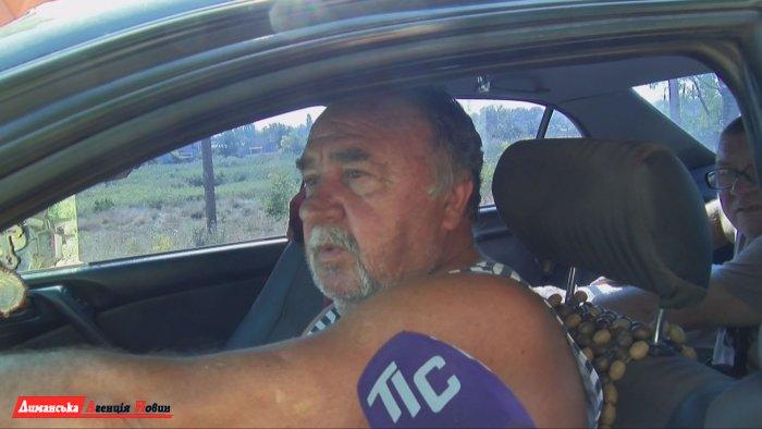 Микола Ленієв, мешканець Сичавки.