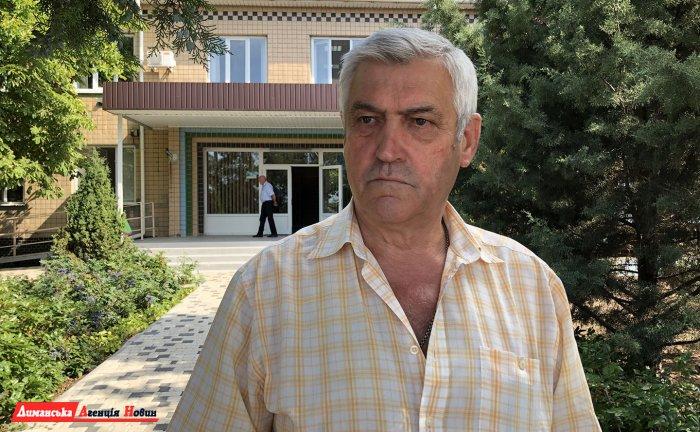 Валерій Стоілакі, голова Визирської сільради.