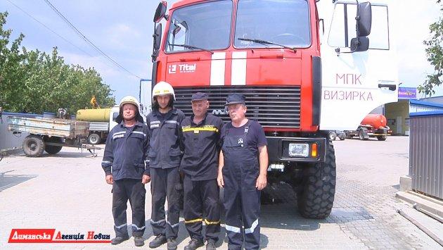 На сторожі безпеки. Як працює Визирська місцева пожежна команда? (фото)