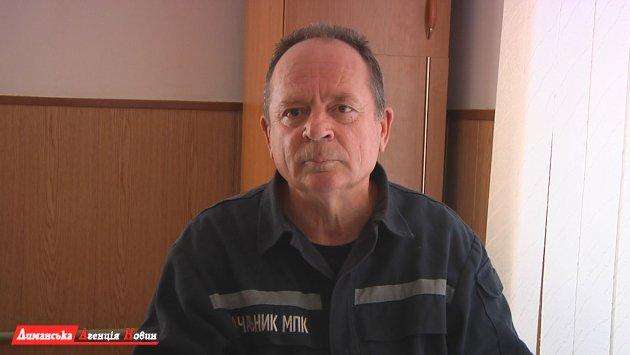 Микола Панфілов, начальник МПК Визирки