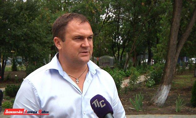 Віктор Дяченко, голова Маяківської сільської ради.