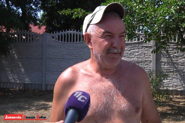 Николай, местный житель.