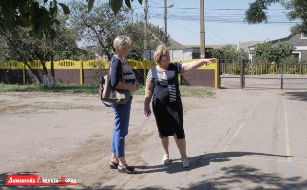 Тетяна Казак, директорка Першотравневої школи.