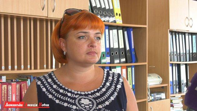 Яна Куліченко, директорка Визирської школи.