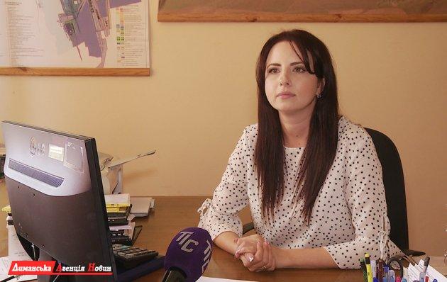 Анастасия Дорошенко, начальник отдела земельных отношений Визирского сельсовета.
