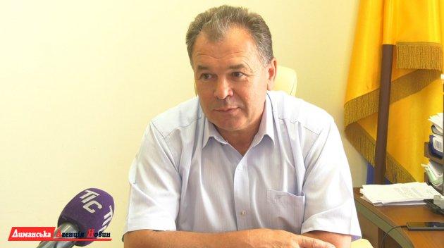 Василий Приймак, председатель Лиманской РГА.
