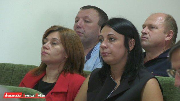 """Тетяна Таран, голова комісії з реорганізації КУ """"Лиманська ЦРЛ""""."""