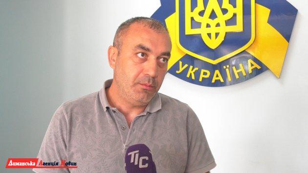 Андранік Амірханян, спеціаліст з будівництва та ремонту доріг.