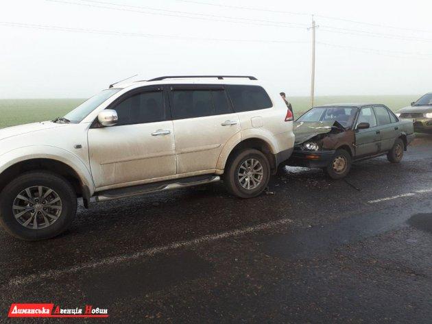 Масштабное ДТП в Сычавке: столкнулись автобус и пять машин.
