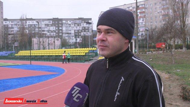 Сергей Резцов,соорганизаторзабега.