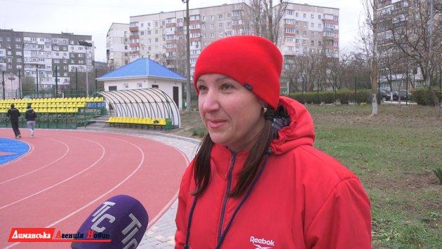 Инна Полякова,соорганизаторзабега.