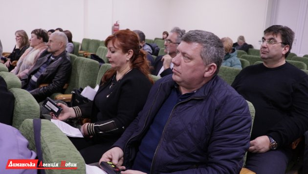 Состоялась 39 внеочередная сессия Лиманского райсовета (фото)