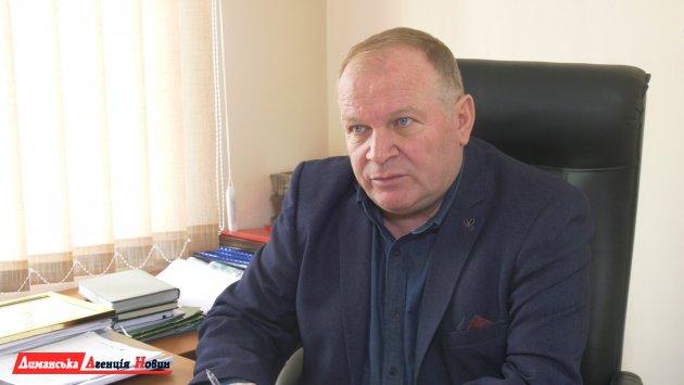 Александр Токменинов, первый заместитель Визирского сельского головы.