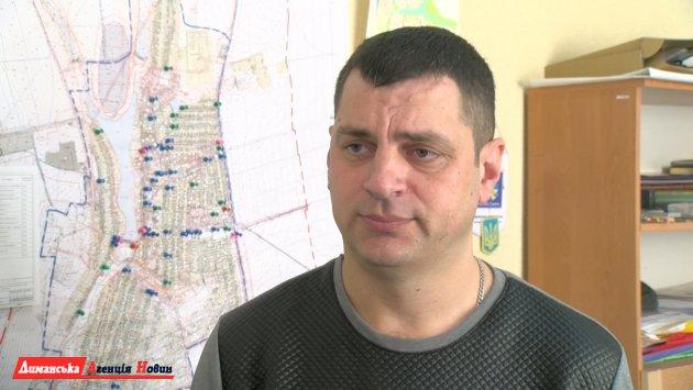 Максим Калюжний, заст. Доброславського селищного голови з питань благоустрою та ЖКГ.