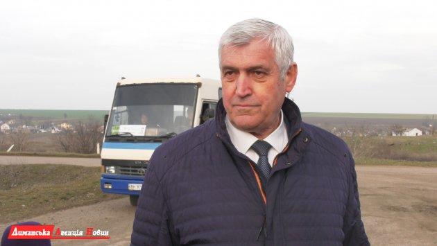 Валерій Стоілакі, голова Визирської сільської ради.