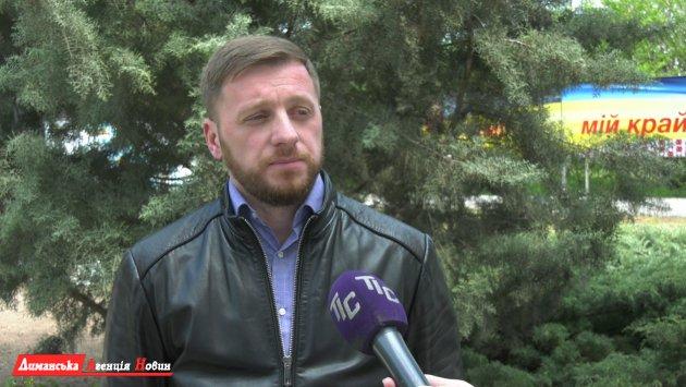 Вадим Рошка, начальник відділу ЖКГ, взаємодії з правоохоронними органами, НС та оборонної роботи Визирської сільської ради.