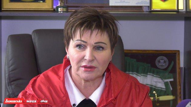 ЛюдмилаПрокопечко,Доброславськийпоселковый голова.