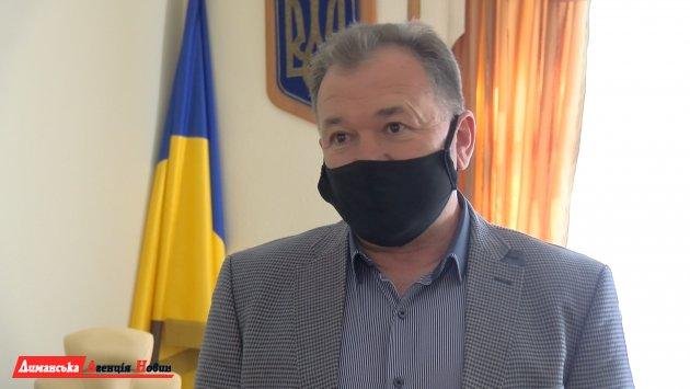 Василий Приймак, глава Лиманской РГА.