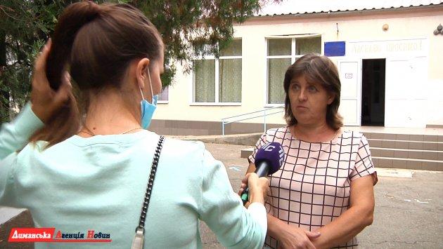 Любовь Захаревич, исполняющая обязанности директора Калиновского УВК