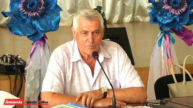 Валерий Стоилаки, Визирский сельский голова.