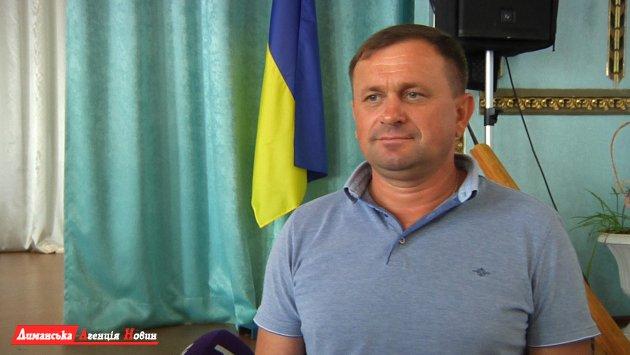 Николай Ткаченко, Калиновский сельский голова.