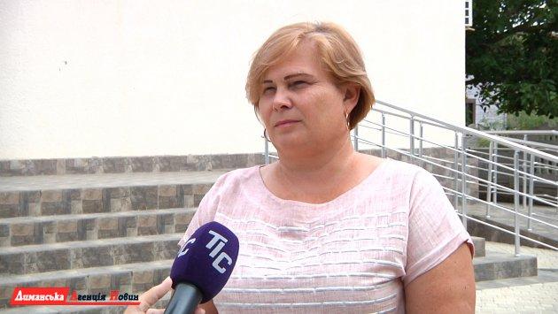 Оксана Третьякова, Кордонский сельский голова.