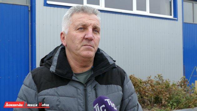 Сергей Чернецкий, руководитель КП «Визирське джерело».