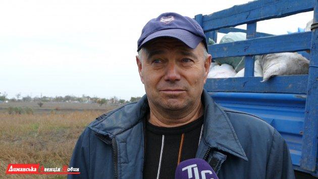 Николай, житель села Порт.