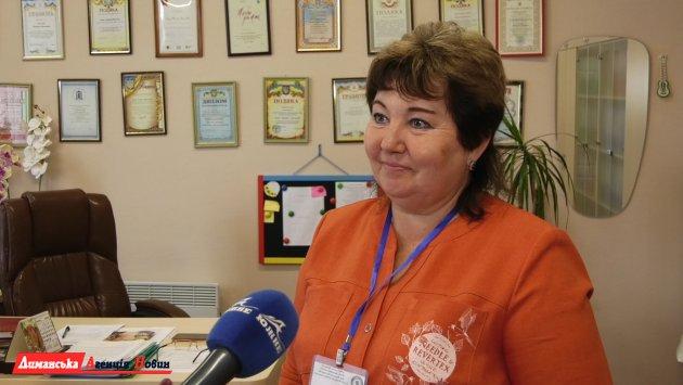 Татьяна Казак, директор опорного учреждения образования «Першотравневый лицей».