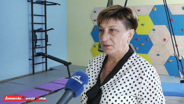 Валентина Лопушинская, директор КУ«Инклюзивно-ресурсный центр» Визирского сельского совета.