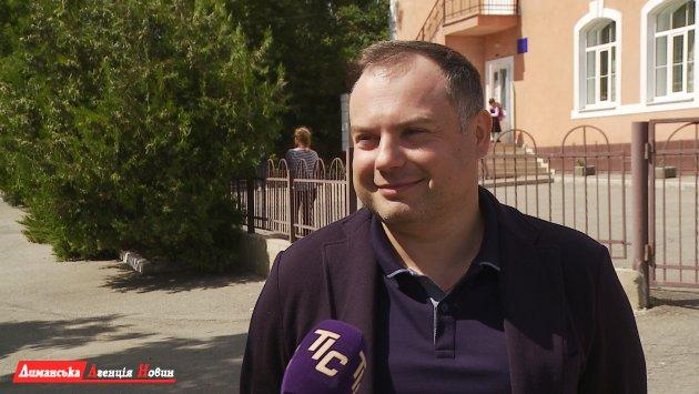 Виталий Кутателадзе, член исполкома Визирского сельсовета.