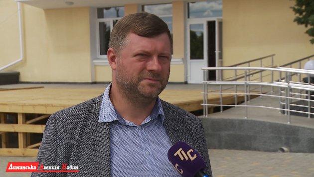Александр Корниенко, председатель партии «Слуга Народа».